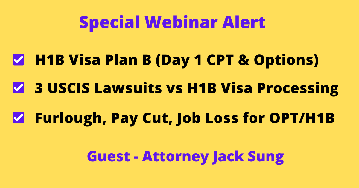 Special Webinar with Jack Sung